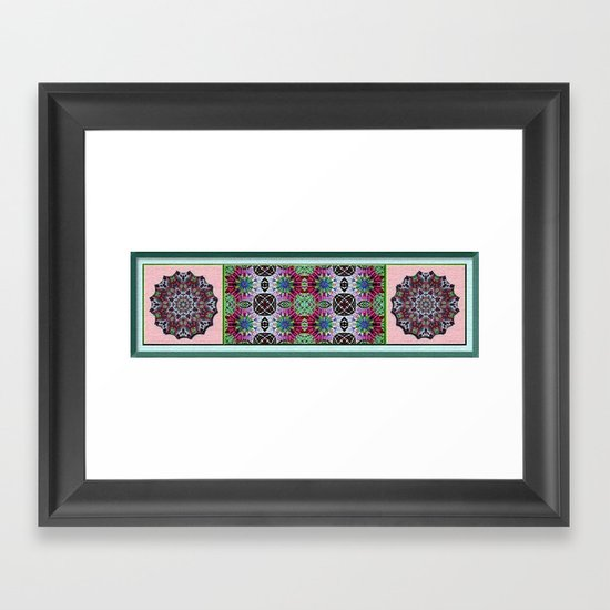 Hawaiian Garden 4 Framed Art Print