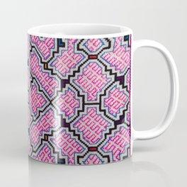 Song of Bringing Things Together - Traditional Shipibo Art - Indigenous Ayahuasca Patterns Coffee Mug