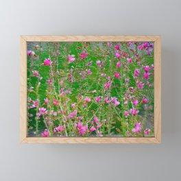 lavender painting Framed Mini Art Print