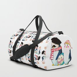 Penguin family Duffle Bag