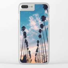 Palm trees! Clear iPhone Case