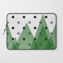 Christmas mountains Laptop Sleeve