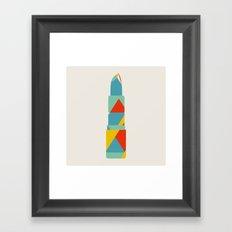 Lipstick Hues Framed Art Print