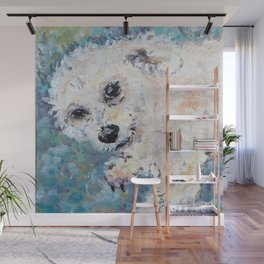 Henry Poodle Wall Mural