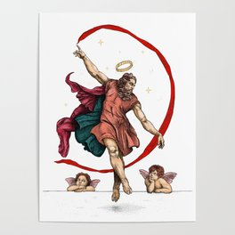 The dance of eternity Poster