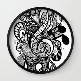 Let the music play! Wall Clock