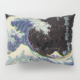 The Great Vaporwave Pillow Sham