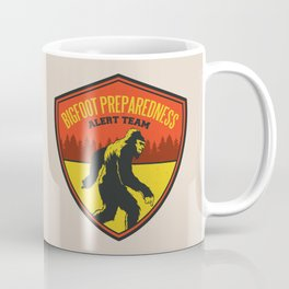 Big Foot Alert Team Coffee Mug