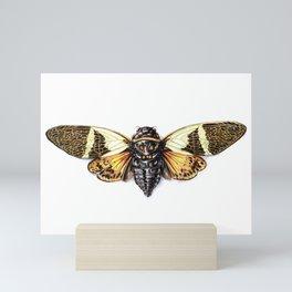 Cicada 2 Mini Art Print