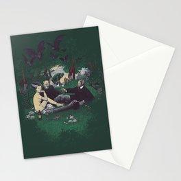 Le Déjeuner sur l'herbe (universal monster) Stationery Cards