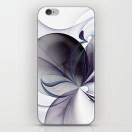 Easiness, Abstract Modern Fractal Art iPhone Skin