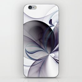 Easiness, Abstract Modern Fractal Art iPhone Skin