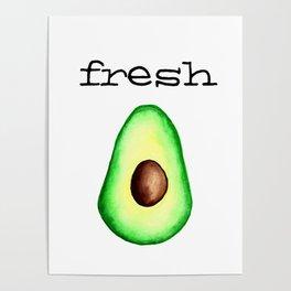 Fresh Avocado fr e sh a voca do Poster