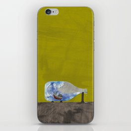 tossed to sea // jonah & the whale iPhone Skin