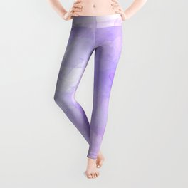 Pink and Purple Watercolour Leggings