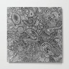 Maniac arabesque Metal Print