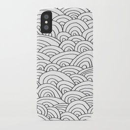 Sea of Lines 2 iPhone Case