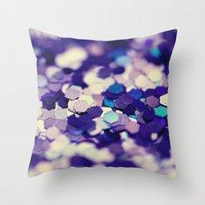 Grape Mix - an abstract photograph Throw Pillow