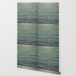 Sea Glitter (vintage) Wallpaper
