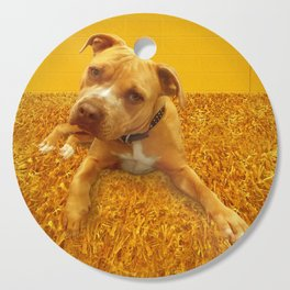 CHENiLLE (shelter pup) Cutting Board