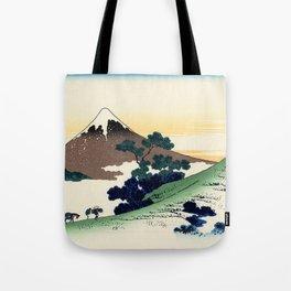 """Hokusai (1760-1849)  """"Inume Pass"""" Tote Bag"""