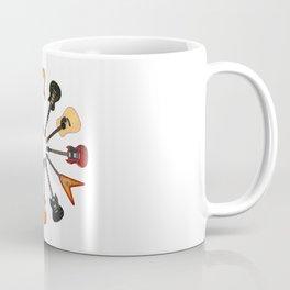 Guitar Circle Coffee Mug