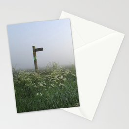 Foggy Directions Stationery Cards