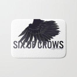 Six Of Crows Bath Mat