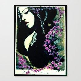GeishaBlossomed Canvas Print
