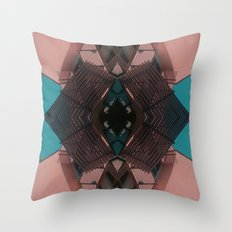My city is my spaceship Throw Pillow