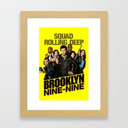 brooklyn 99 Framed Art Print