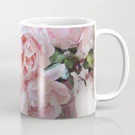 Impressionistic Dreamy Peony Peonies Wall Art Home Decor Coffee Mug