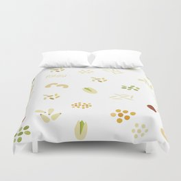 Nuts and grains Duvet Cover