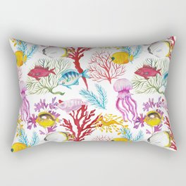 Coral Reef - All together Rectangular Pillow