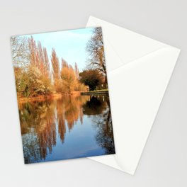 Peaceful Reflection Stationery Cards