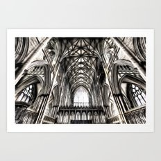 York Minster Art Art Print