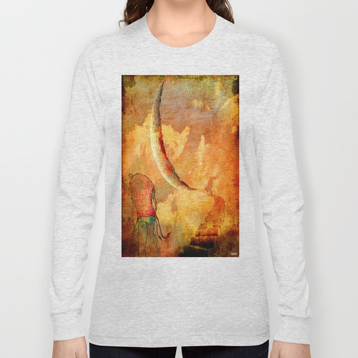 Shelsea under the moon Long Sleeve T-shirt