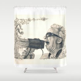 The Mollusk Lingers... Shower Curtain