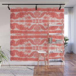 Tie Dye Twos Corals Wall Mural