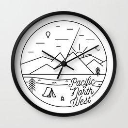 Pacific Northwest 2 Wall Clock
