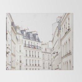Slightly Paris Throw Blanket