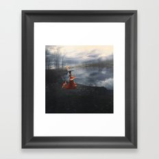 The Depth of the Lake Framed Art Print