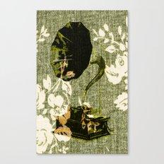 Dueling Phonographs VIII Canvas Print