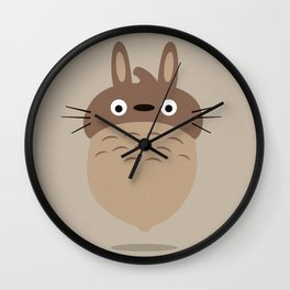 my neighbour totoro Wall Clock