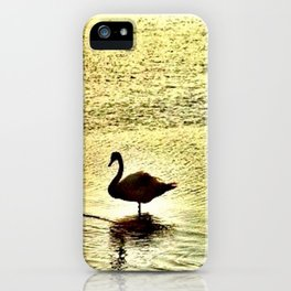 The Swan iPhone Case