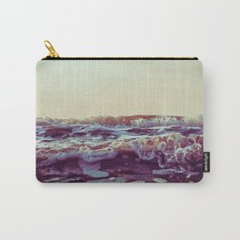 Waves Detail Carry-All Pouch