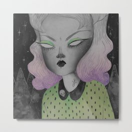 Ghoul from Outer Space Metal Print
