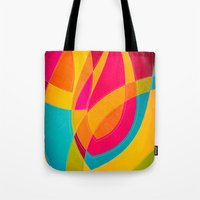 magnolia Tote Bags featuring magnolia by Julia Tomova