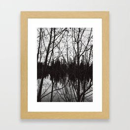 Chaos! Framed Art Print