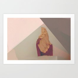 Blinded by Invisible Shapes Art Print